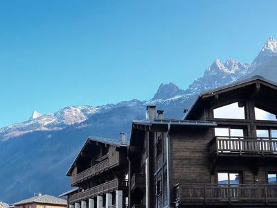 Photo for Fabulous brand new two bedroom apartment in in Chamonix centre with Free WiFi
