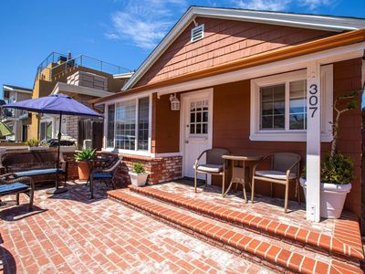 Photo for Great Family Spot, 2 Blocks to Beach, AIR CONDITIONING, Parking, Huge Private Patio w/BBQ, Parking