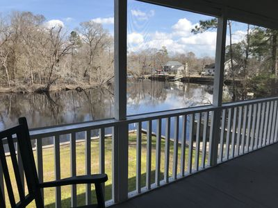 Photo for River House with floating dock and boat ramp