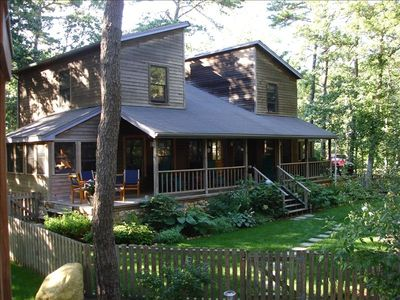 Photo for Spacious, Contemporary Home on Private Wooded Lot
