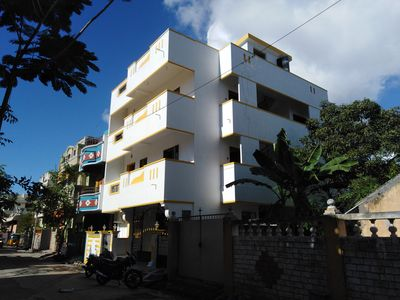 Photo for New, furnished, 2 bedroom air-conditioned apartment in Pondicherry