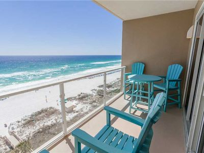 Photo for Beautiful Tile Wood Floors & Stainless Steel Appliances. Beach Front Balcony!