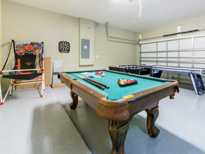 Photo for Brand New Listing! Sonoma Resort Game Room, Pool Near All Theme Parks