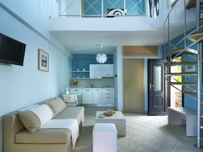 Photo for Modern Residence with Balcony, Garden & Pool View