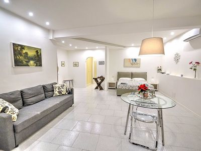 Photo for Suite Fior di Luna B: A modern and graceful studio apartment situated a few minutes from the town center, with Free WI-FI.