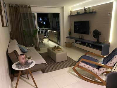 Photo for Apt Golf Ville 115m2 with barbecue