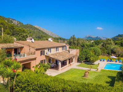 Photo for Villa Cati - This spacious villa includes a private pool & WI-FI