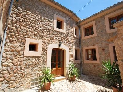 Photo for Townhouse with Roof Terrace and wifi in the centre of Fornalutx.