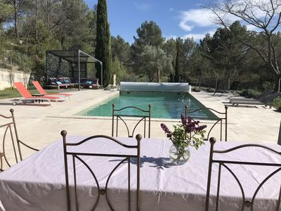 Photo for At the foot of Sainte Victoire, 10 min from Aix