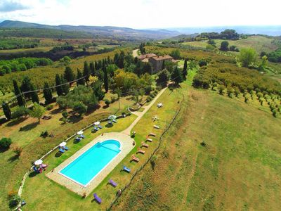Photo for Morrano Vecchio Apartment, Sleeps 6 with Pool and Free WiFi