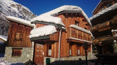 Photo for ski chalet 8-10 people at 25m from the gondola