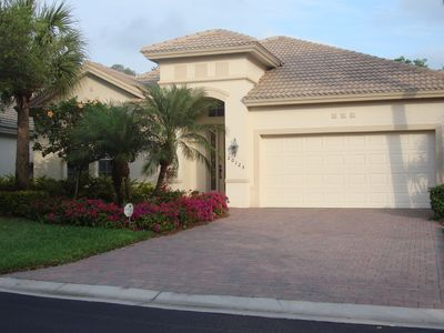 Photo for 3 bd/2 ba Single Fam Pool Home w/ Lagoon View, Prof Decor in Upscale Grandezza