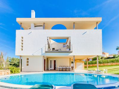 Photo for Luxury villa for 8 people with spectacular views over the bay of Palma