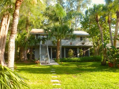 Photo for Coconut Palm Cottage:  Tropical Ambiance, Private And Quiet, Classic Island Home