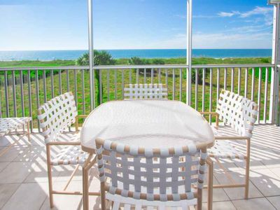 Photo for Top Floor, Beachfront, Two Bedroom Condo with Loft! South Seas Beach Villa 2023