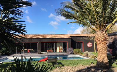 "Photo for CABANE MORNAC ""6-8p"" beautiful benefits, swimming pool, 10kms beaches, quiet"