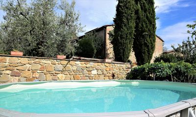 Photo for LA CAPANNA DI ARSOLI. exclusive pool , air conditioning , whirlpool outdoor.