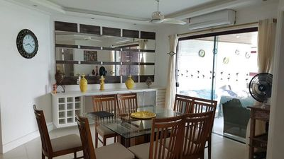 Photo for Apartment with 4 suites, sea view, gourmet balcony with barbecue.