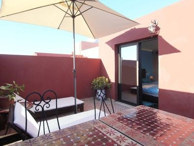 Photo for Apartment in Marrakesh with Internet, Air conditioning, Lift, Parking (444724)