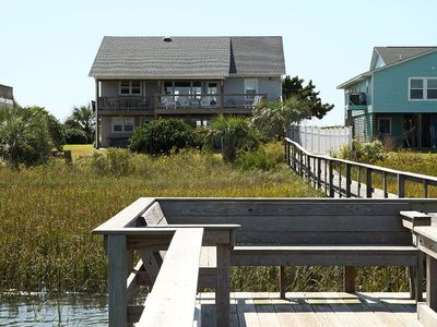 Photo for Sound Sleeper: 6 Bed/3 Bath Home on Intracoastal Waterway with Easy Beach Access