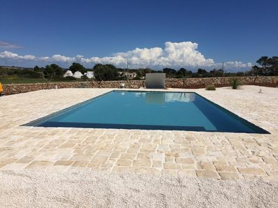 Photo for La Janca - Villa with panoramic pool and garden 2 steps from the beach