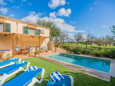 Photo for Villa with private pool, free Wifi, in a quiet are of Pollensa