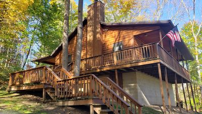 Photo for Vacation cabin in the beautiful Hocking Hills