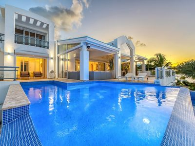 Villa Amaryllis  -  Waterfront - Located in  Stunning Simpson Bay with Private Pool