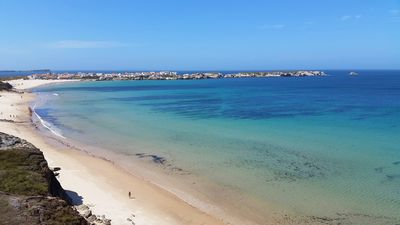 Photo for Duplex apartment with terrace - Baleal, Peniche