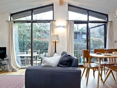 Photo for The Hide, Gara Mill, Slapton -  a lodge that sleeps 6 guests  in 3 bedrooms