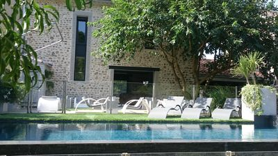 Photo for Charming Renovated Barn Style Workshop .......................... Heated Pool