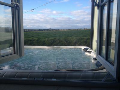 Photo for Self Catering House With Hot Tub, Sleeps Up To 9, visit www.solvaholidays.com to see Y Bwlch