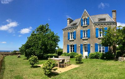 Photo for Plozévet- beautiful house with beautiful sea view