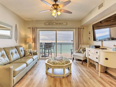 Photo for Beachfront Gulf Shores Condo w/Patio & Pool Access