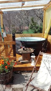 Photo for Stone Rustico with garden in ancient village, Tuscany Exclusive whirlpool