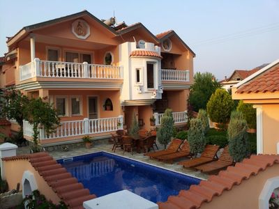 Photo for DALYAN PALACE - SELF CATERING HOLIDAY VILLA WITH SWIMMINGPOOL IN DALYAN t