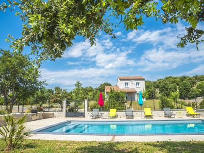 Photo for Fully air conditioned villa with private pool in quiet