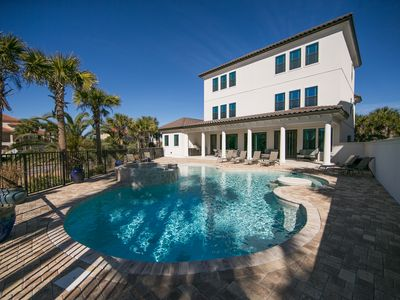 Photo for Luxurious Beach Estate, Sleeps 22, Private Pool, Private Beach Access!