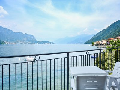 Photo for Bellagio Villas - Turandot with garden directly on the Lake