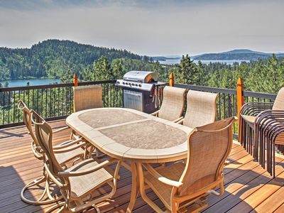 Photo for 'Forever Views' Cozy Coeur d'Alene Home w/Hot Tub!
