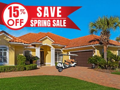 Photo for 15%OFF Now-5/25/19! ~FREE Golf Cart~ Private Hotub! Community Amenities+Perks