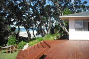 Walk straight onto the sand from your garden.