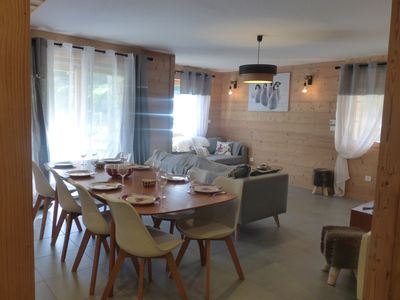 Photo for very nice appartement-7couchages at 150m pistes, ski lifts, ski school (ESF)