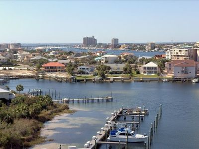 Photo for Spring is Around the Corner! Book Your Vacation Overlooking Destin Harbor Now!