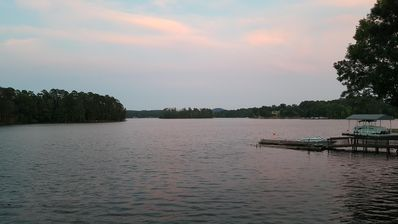 Photo for Badin Lake Waterfront Home - Beautiful views with the comforts of home!