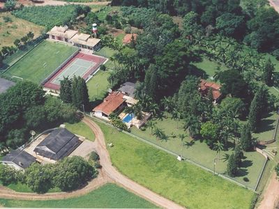 Photo for 6. 500m2 heated-pool, sauna, soccer fields, tennis courts, volleyball, barbecue