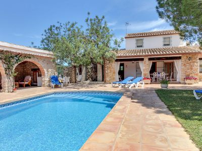 Photo for Villa Canor, Villa with Pool and Pets allowed