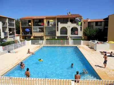 Photo for PROMO Apartment 6pers. direct access beach and pool ideal family all comfor