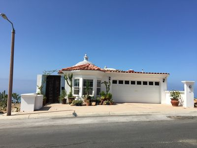 Photo for SPECTACULAR 180 DEGRE OCEAN VIEW HOME. BEST SURF, PRIVATE BEACH AND LOCATION
