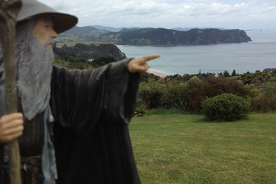 Gandalf is amaized at our view